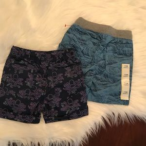 Other - 2 New 12 Months Cat& Jack Shorts